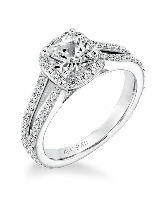 ArtCarved 31-V646EUW-E Engagement Ring photo