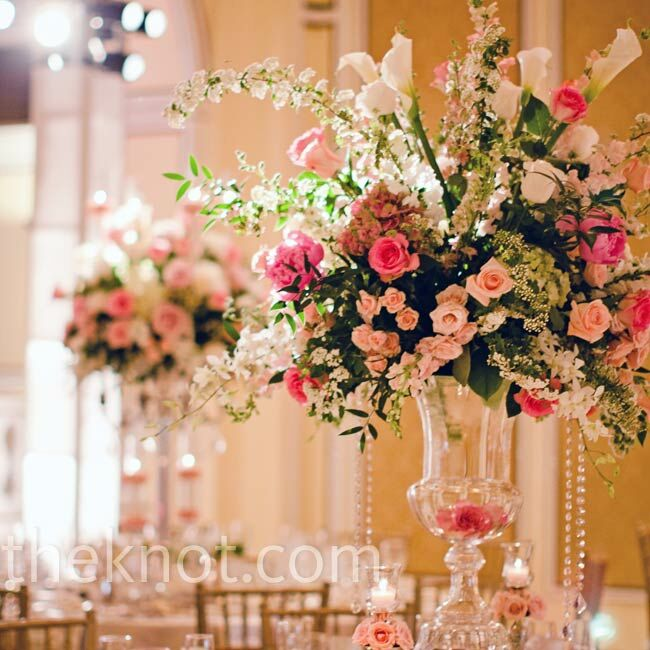 wedding ideas spring 2017 pink floral centerpieces 27994