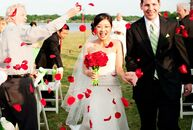 The Bride Donna Chen, 27, a PhD student at the University of Texas The Groom Mike Frink, 27, a product development engineer at Fallbrook Technologies