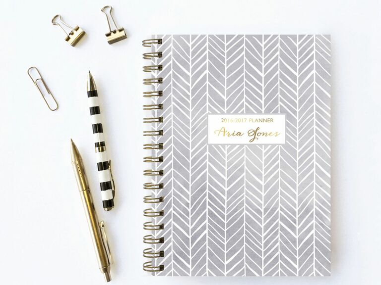 Etsy agenda books for wedding planning a neutral planner junglespirit Image collections