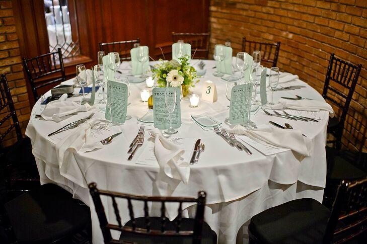 Simple Elegant Table Setting