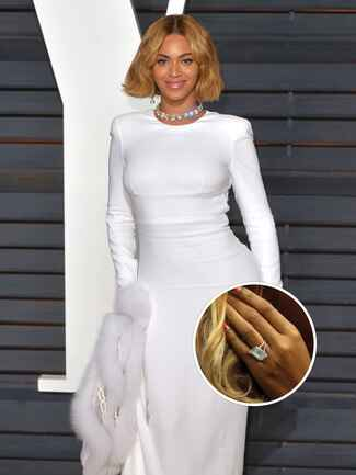 Beyonce's engagement ring from Jay Z