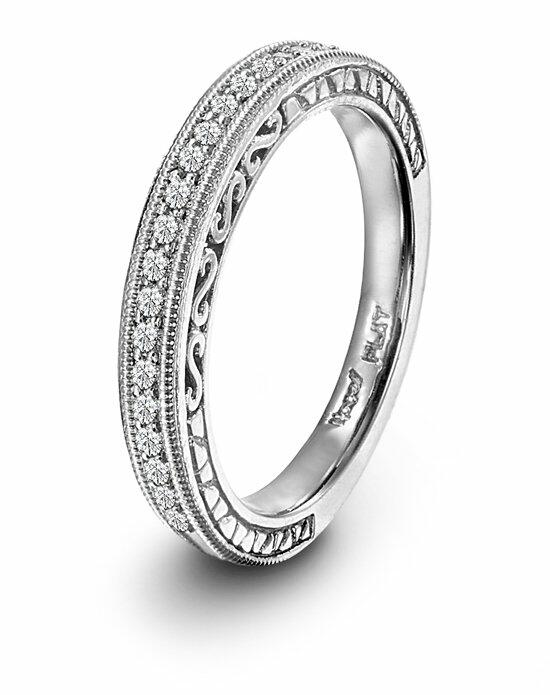 Platinum Must Haves Novell Design Studio Platinum and Diamond Wedding Band Wedding Ring photo