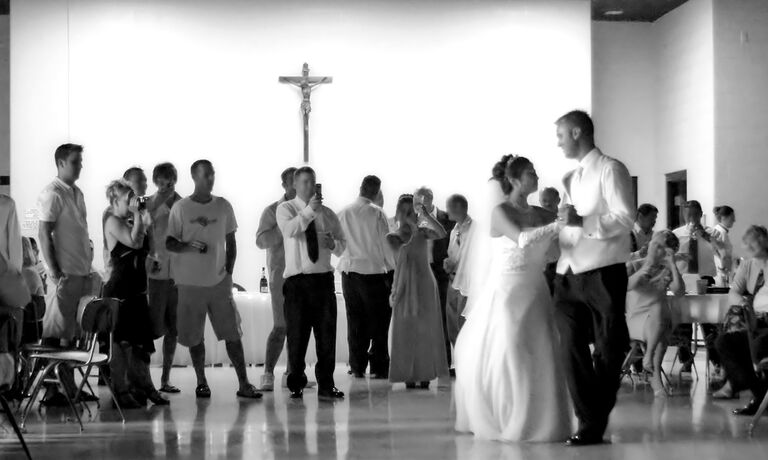 Couple Dancing To Gospel Wedding Songs