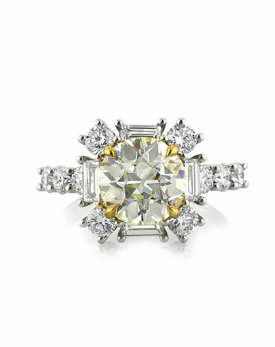 Mark Broumand 4.82ct Old European Round Cut Diamond Engagement Ring Engagement Ring photo