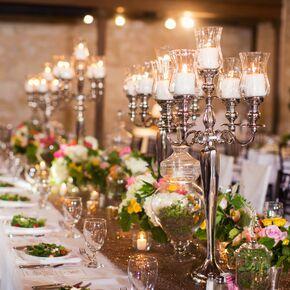 Garden Inspired Elegant Head Table