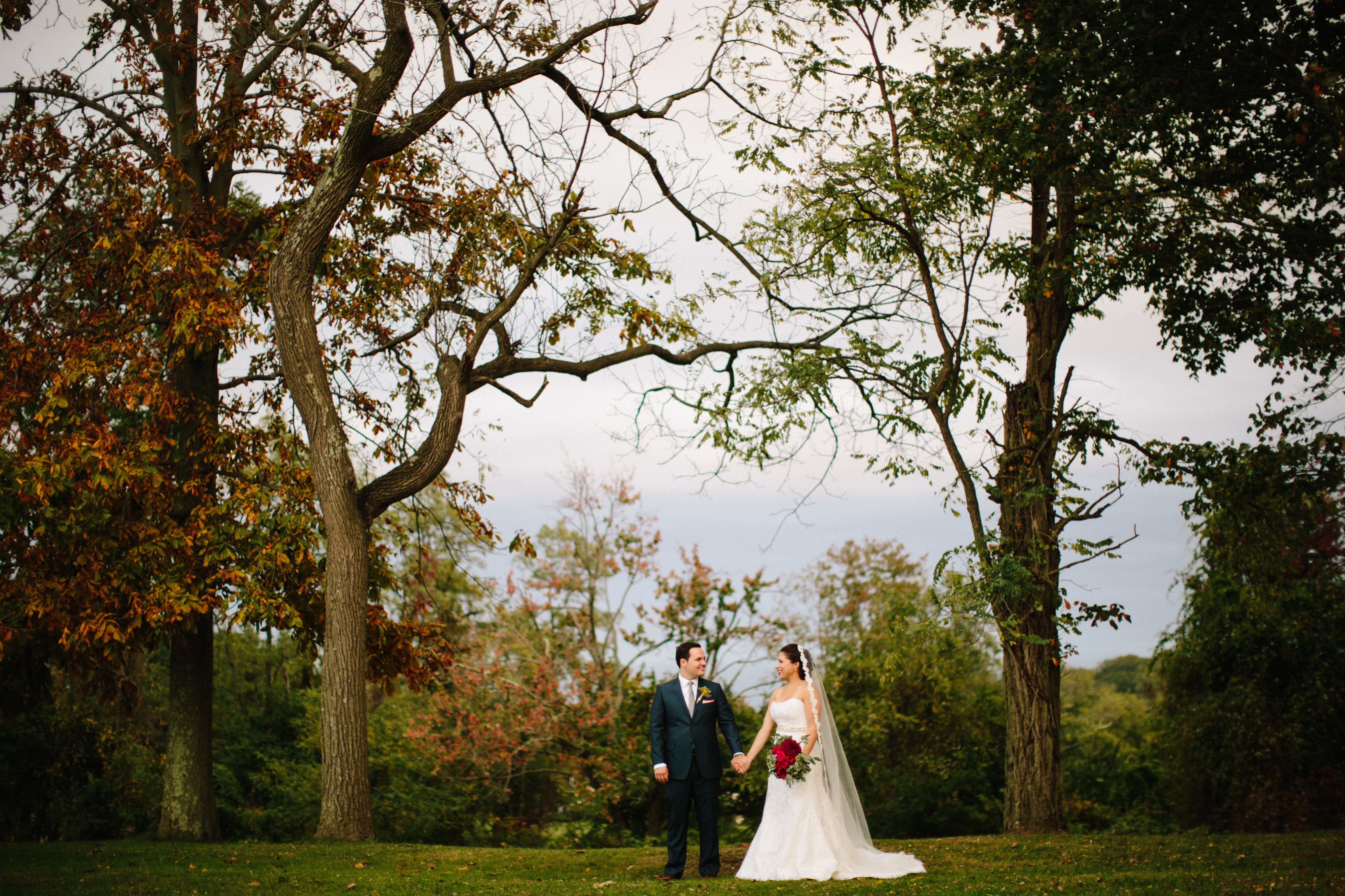 a rustic red wedding at bayonet farms in holmdel new jersey