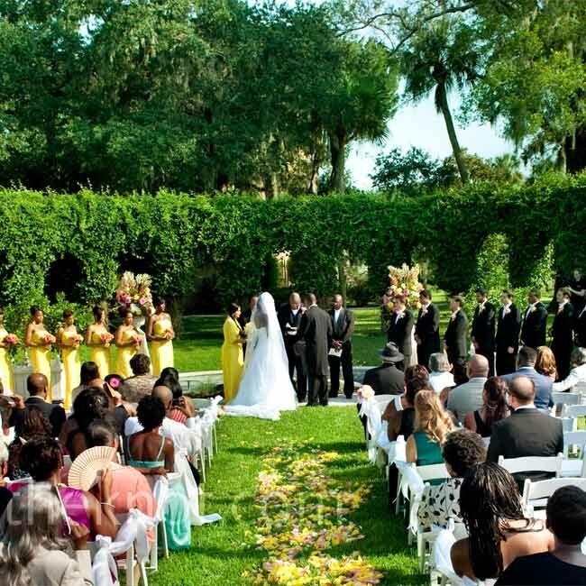 Outdoor Wedding Venues In Georgia: An Outdoor Wedding In Jekyll Island, GA