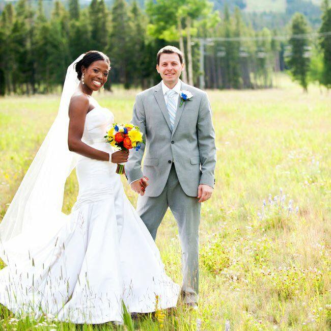 A Casual Mountain Wedding In Breckenridge Co