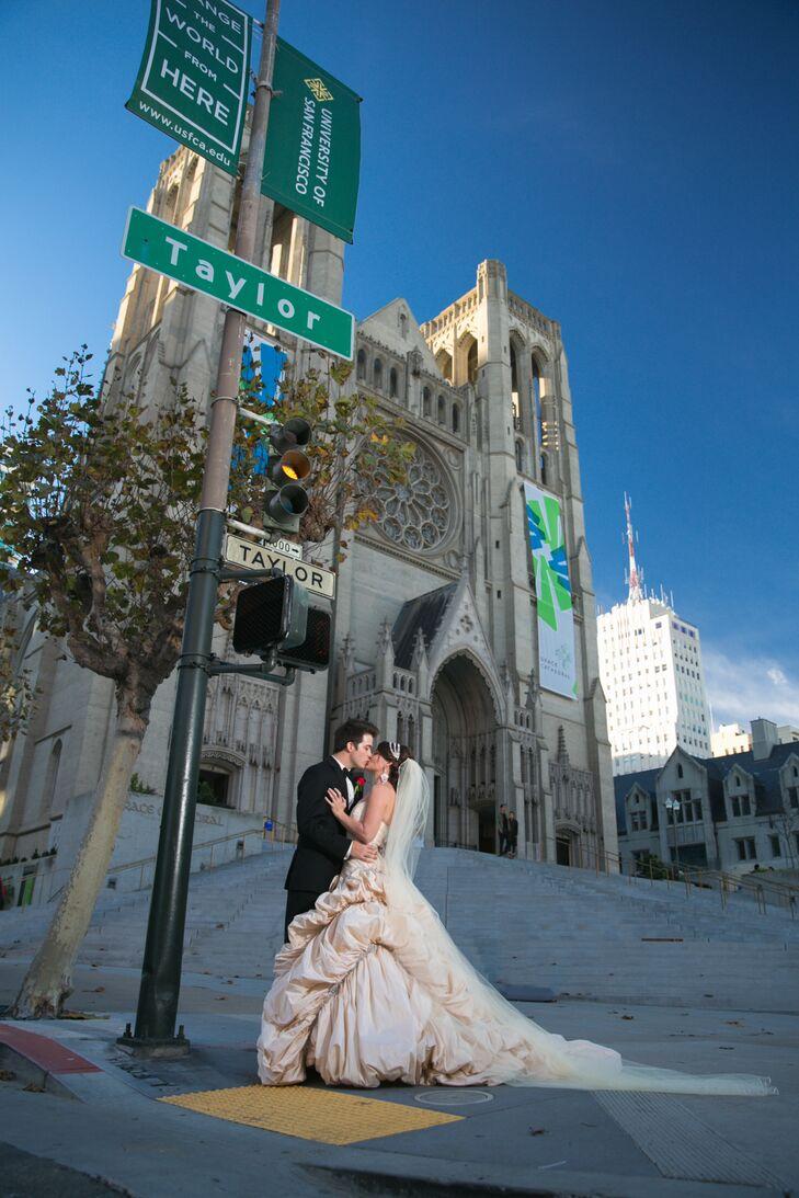 A Formal, Glamorous Ballroom Wedding at The Fairmont San Francisco ...