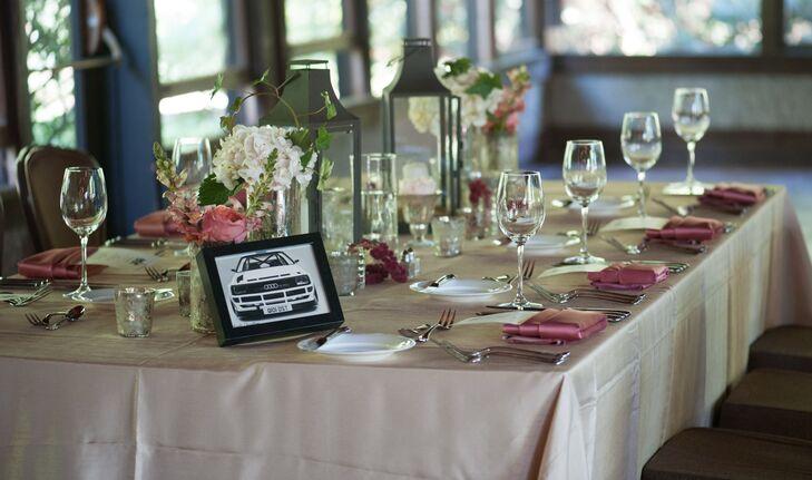 Simple Asheville Wedding Reception