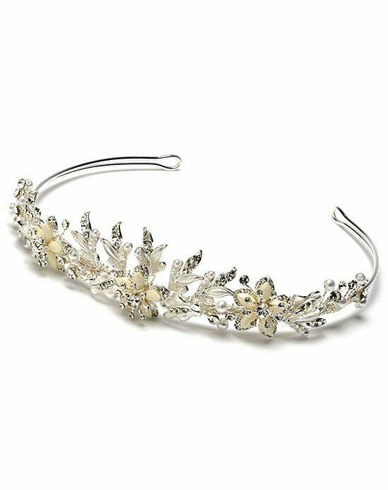 USABride Floral Melody Tiara TI-776-W Wedding Tiaras photo