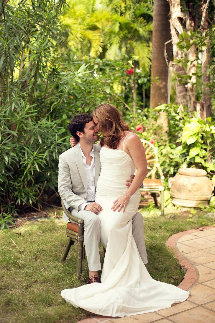 A Simple Destination Wedding At The Beach Villa In St John Virgin Islands