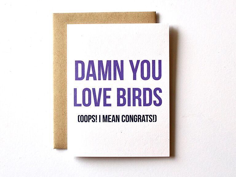 Custom Card Engagement Gift Ideas