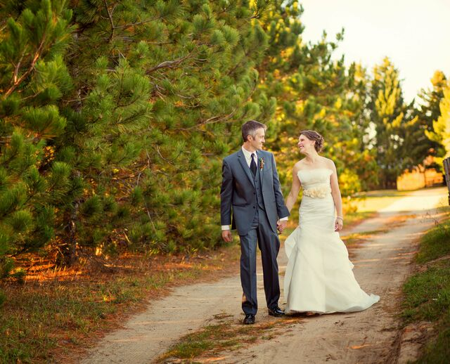 A Rustic Nature-Inspired Wedding in Maple City MI & Sperry Tents Great Lakes - Lake Geneva WI