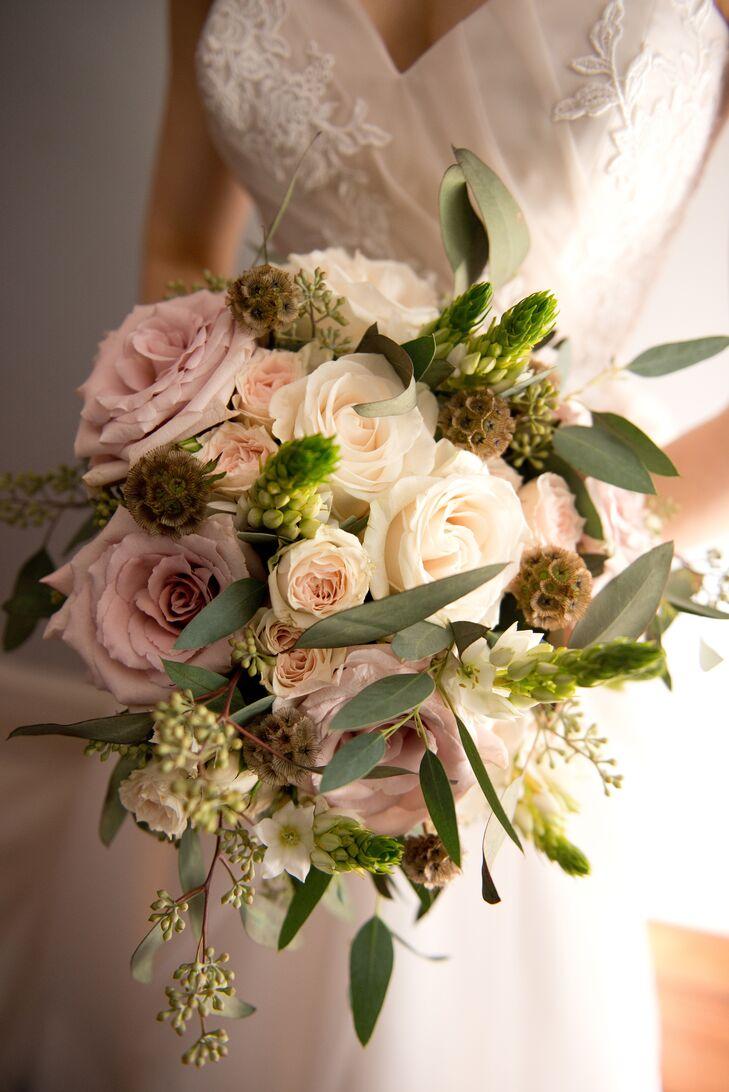 Textured Garden Bridal Bouquet