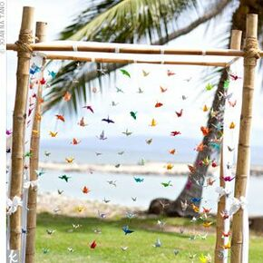 Japanese wedding decorations accents the ceremony decor junglespirit Gallery