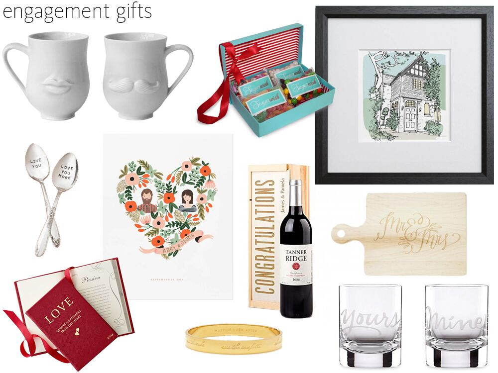 56 Engagement Gift Ideas