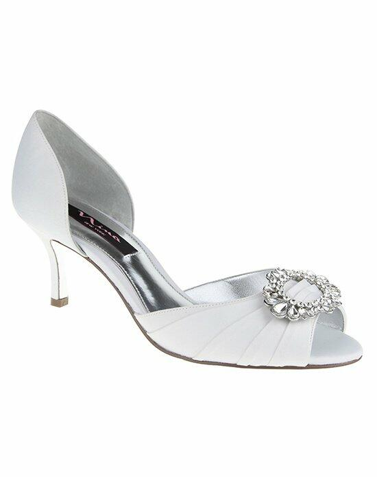 Nina Bridal CRYSTAH_WHITE Wedding Shoes photo