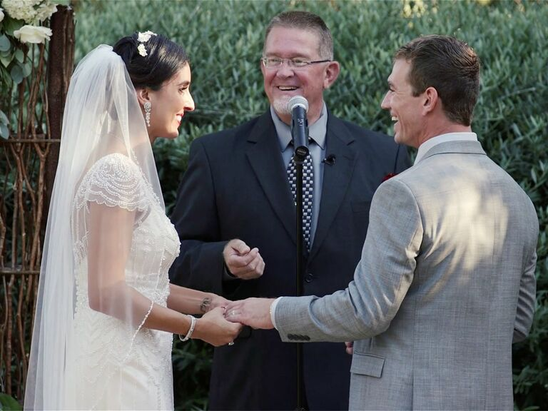 Wedding Vows At Maravilla Gardens In Camarillo California