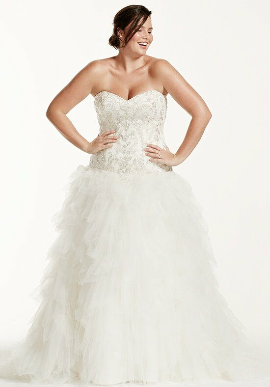 David's Bridal DB Woman Style 9V3665 Wedding Dress photo
