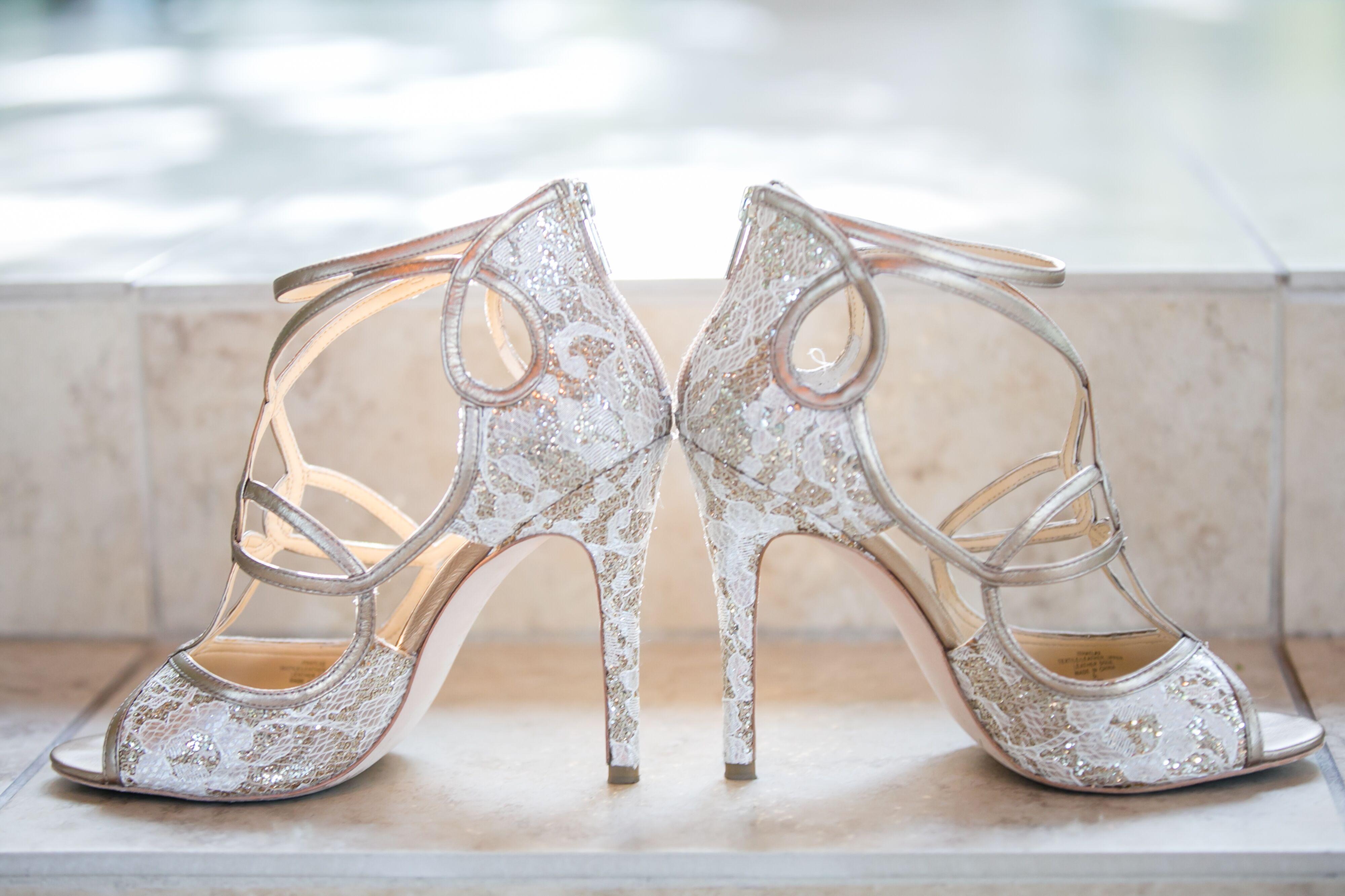 30fc97260cb Vintage Lace Ivanka Trump Wedding Shoes