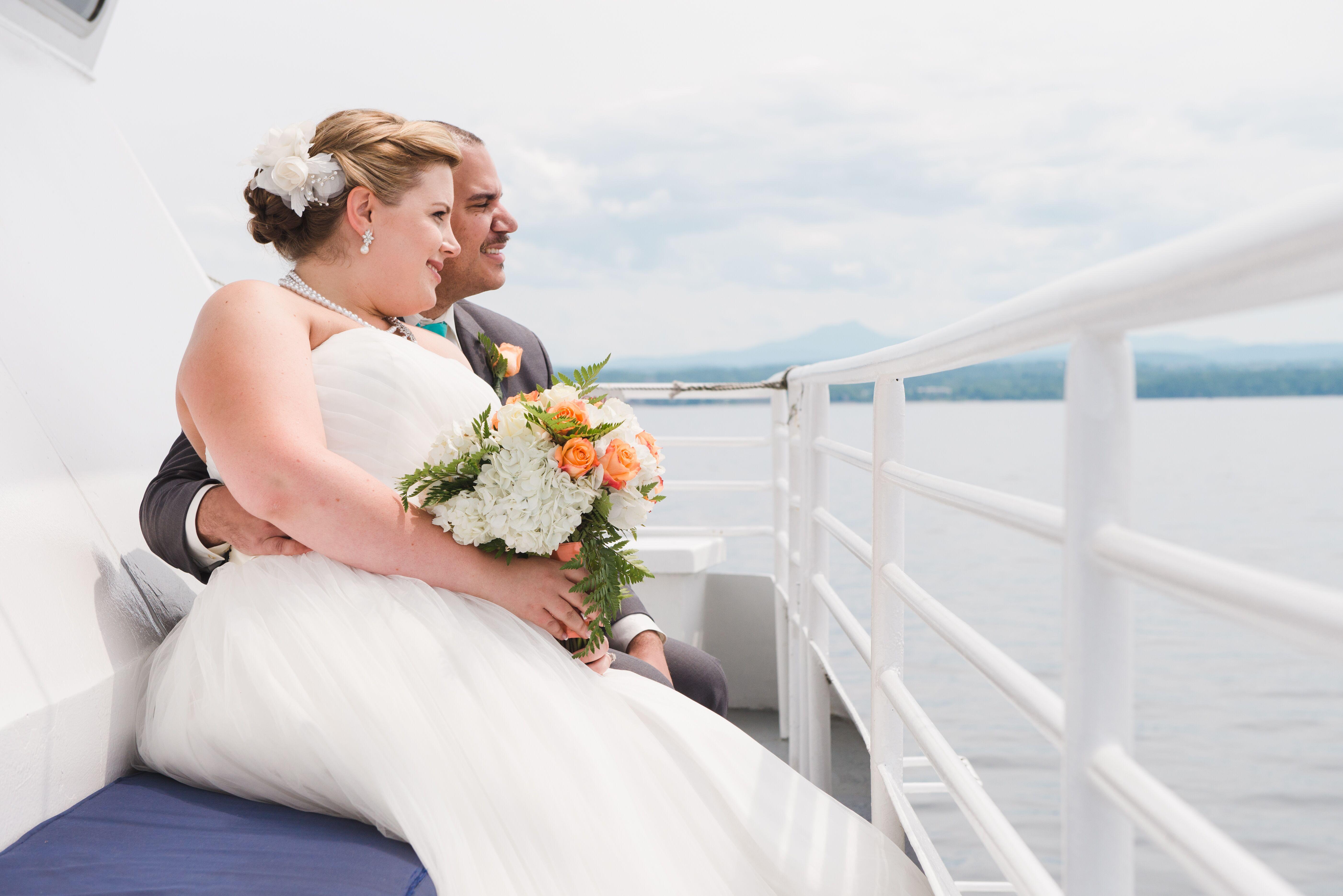 A Nautical Cruise Wedding at the Spirit of Ethan Allen in Burlington ...