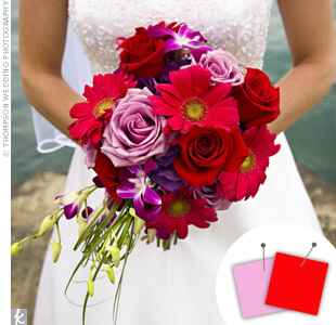 Wedding Color Combo: Pink + Red
