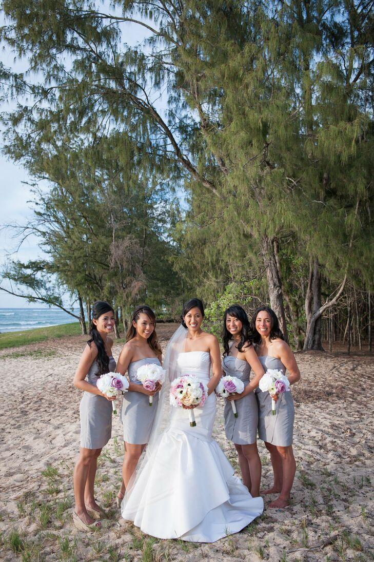 Gray j crew bridesmaid dresses ombrellifo Gallery