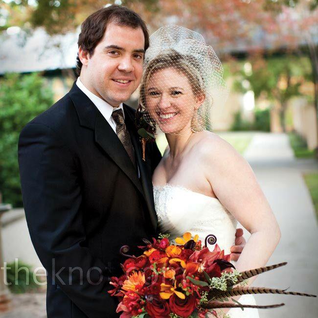 A Rustic Autumn Wedding In San Antonio, TX