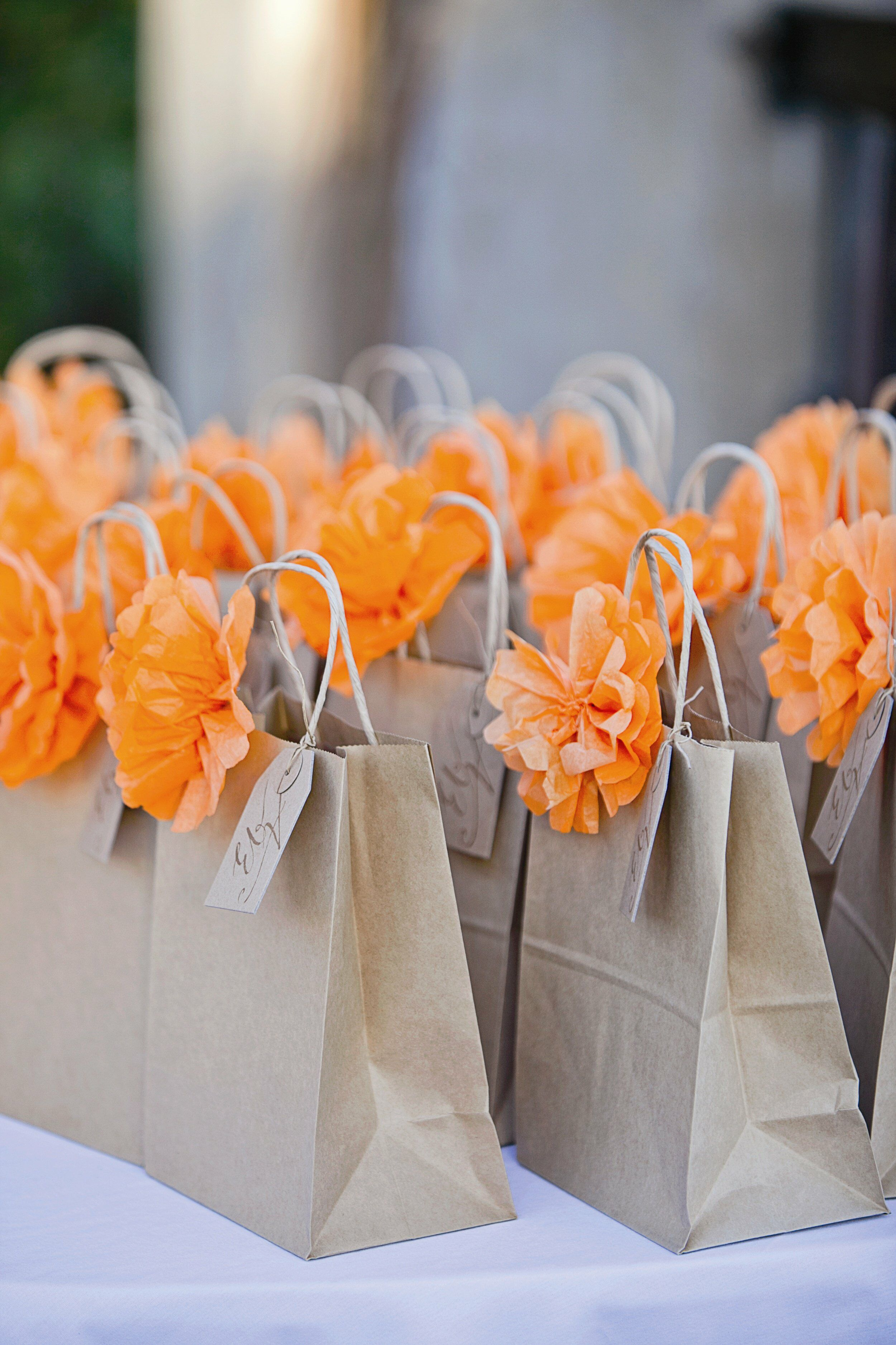 Diy welcome bags for Sample wedding decorations