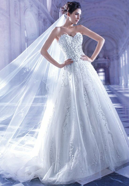 Demetrios 558 Wedding Dress photo