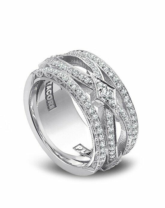 Platinum Must Haves Tacori Platinum and Diamond Band Wedding Ring photo
