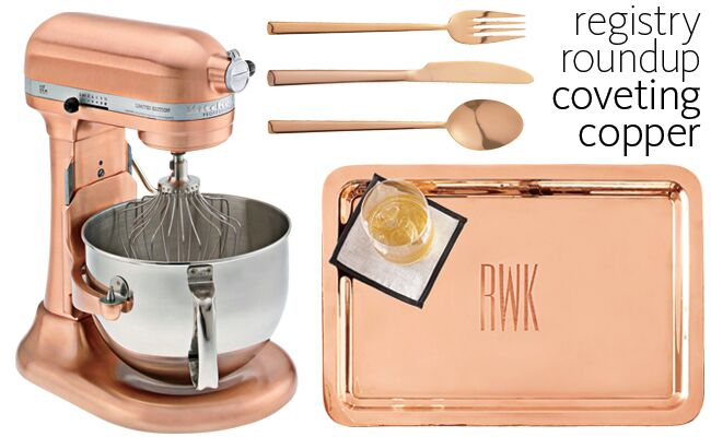 we are head over heels for all things copper well even go so far as to say its our new favorite metallic it is a perfect accent color for wedding decor