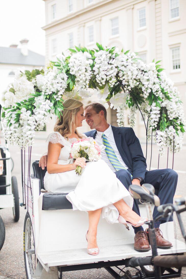 A Romantic Garden Wedding at Fish in Charleston, South Carolina