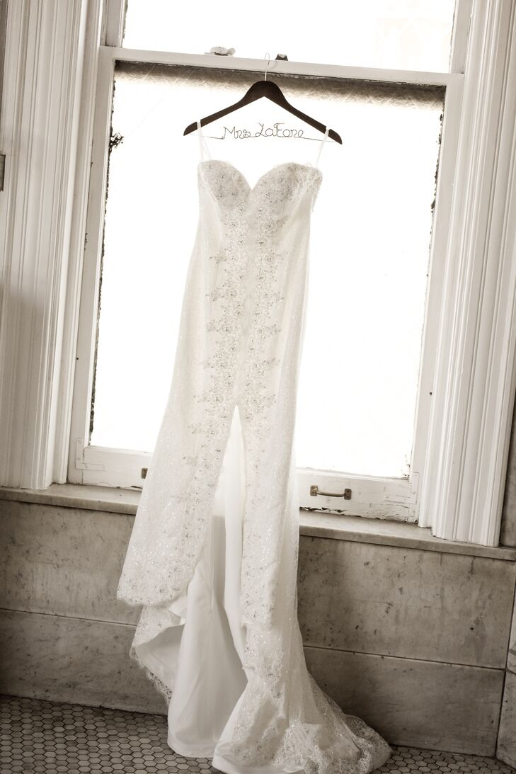 A Maggie Sottero Wedding Dress