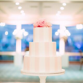 Real Pink Wedding Cakes
