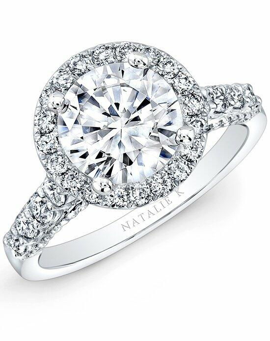 Natalie K Eternelle Collection - NK29376-18W Engagement Ring photo