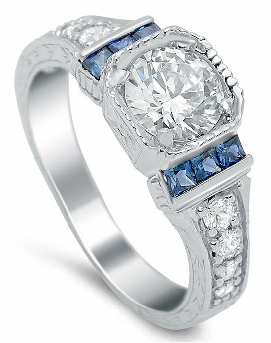 Timeless Designs R596S Engagement Ring photo
