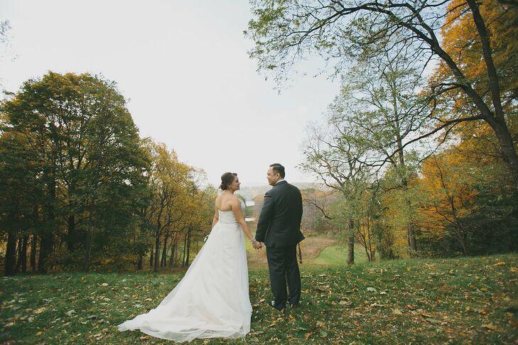 A Rustic Backyard Diy Wedding At The Locust Grove Estate In Poughkeepsie New York