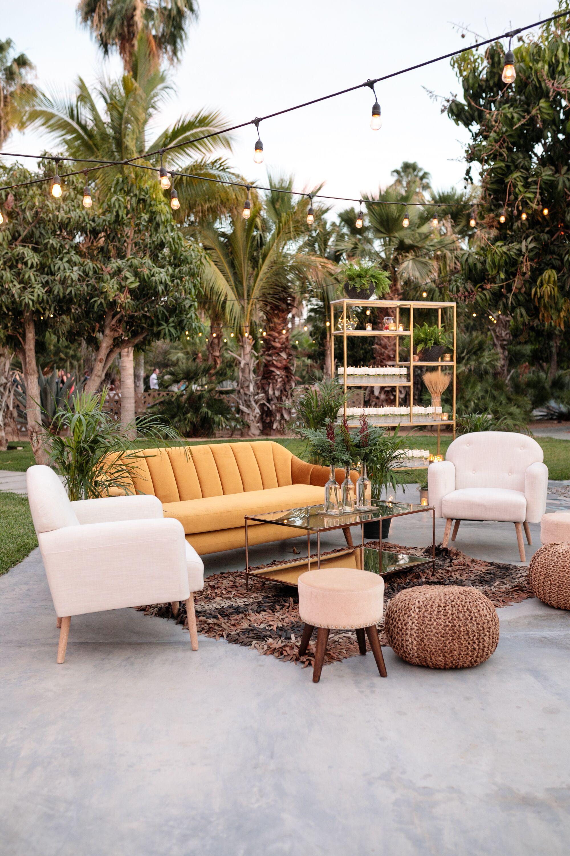 Bohemian, Mid-Century-Style Lounge