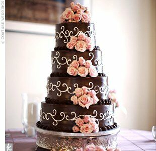 white chocolate ganache covered wedding cake chocolate ganache wedding cake 27250