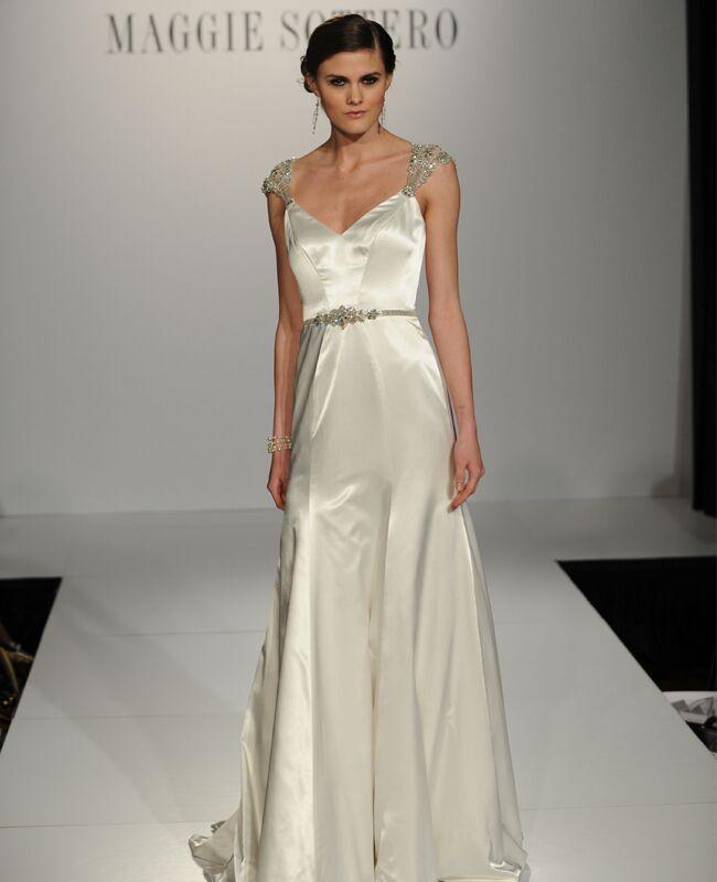 6 art deco wedding dresses from maggie sottero maggie sottero 3 junglespirit Gallery