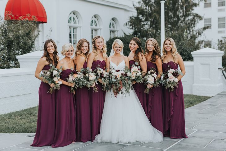 Golden Colour Wedding Gowns: A Chic Rustic Wedding At The Greenbrier In White Sulphur