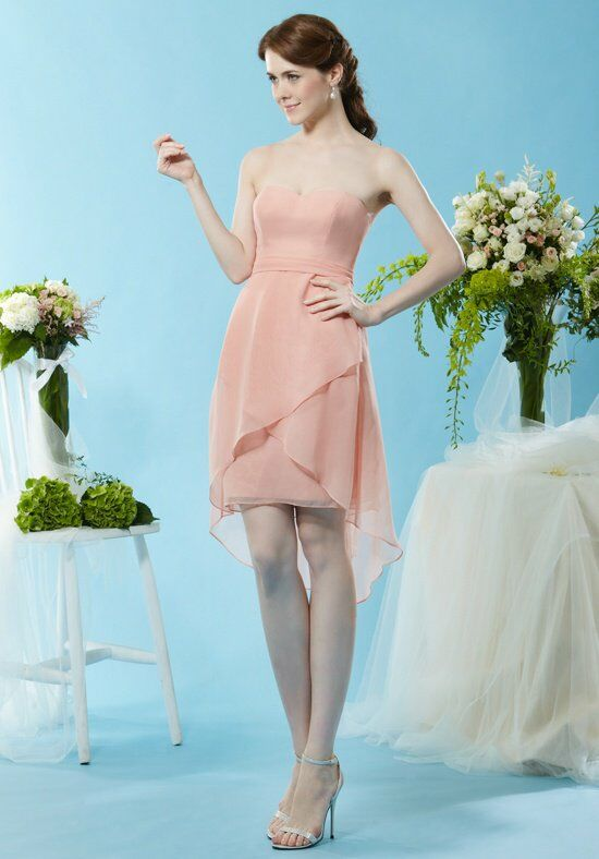 Eden Bridesmaids 7438 Bridesmaid Dress photo