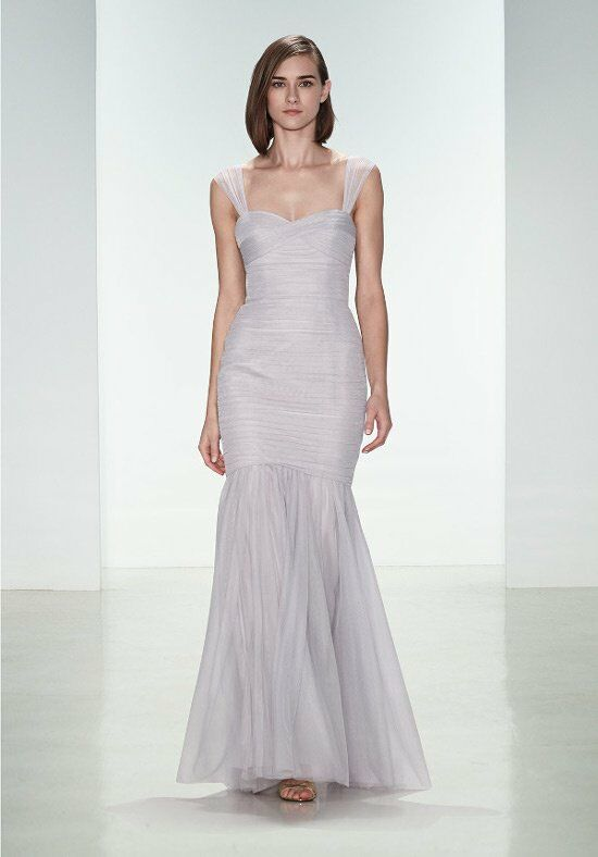 Amsale Bridesmaids G925U Bridesmaid Dress photo