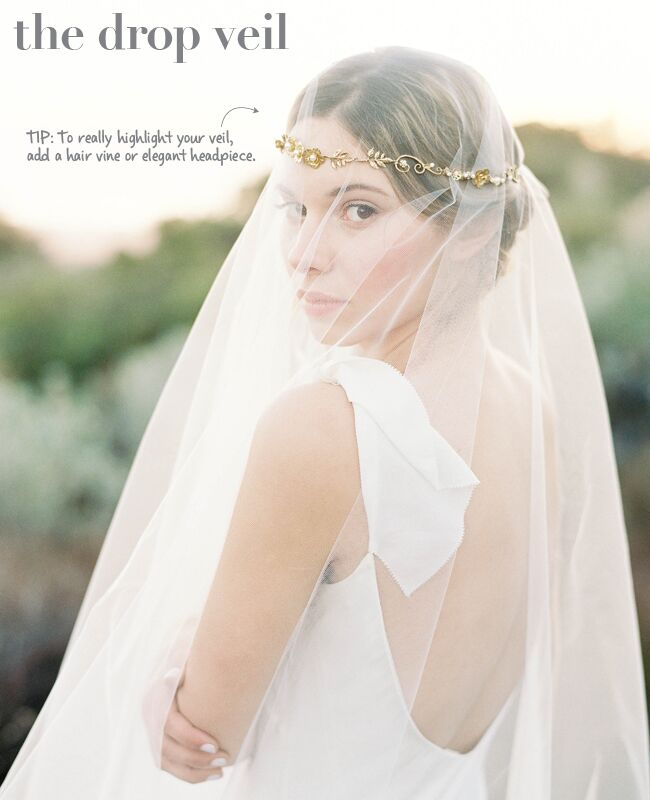 New wedding veil styles plus tips to wearing them halo veil img class junglespirit Images