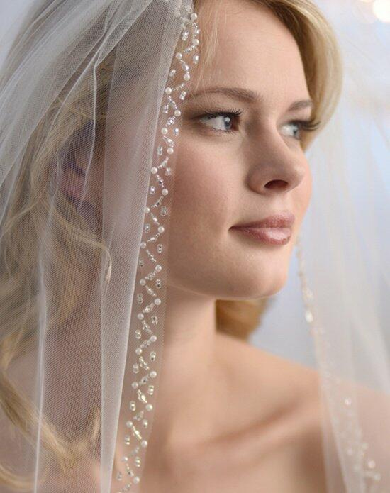 USABride 1-Layer, Aurora Beaded Veil VB-5024 Wedding Veils photo