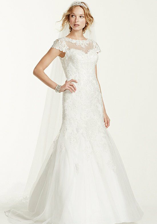 David's Bridal Jewel Style WG3736 Wedding Dress photo