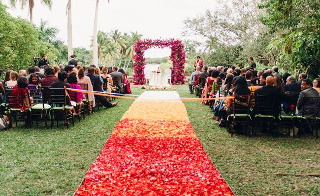 Three Jaw Dropping Indoor Banff Wedding Ceremonies: Couple's Bright Colorful Indian Wedding Is Jaw-Dropping
